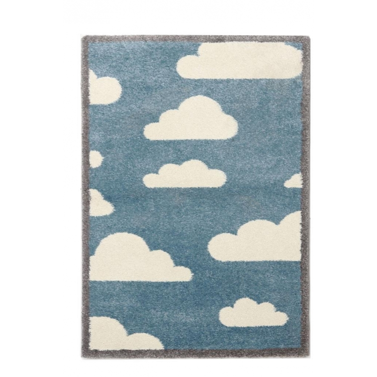Χαλί παιδικό Dream 80x150 - 24 BLUE/GREY Royal Carpet