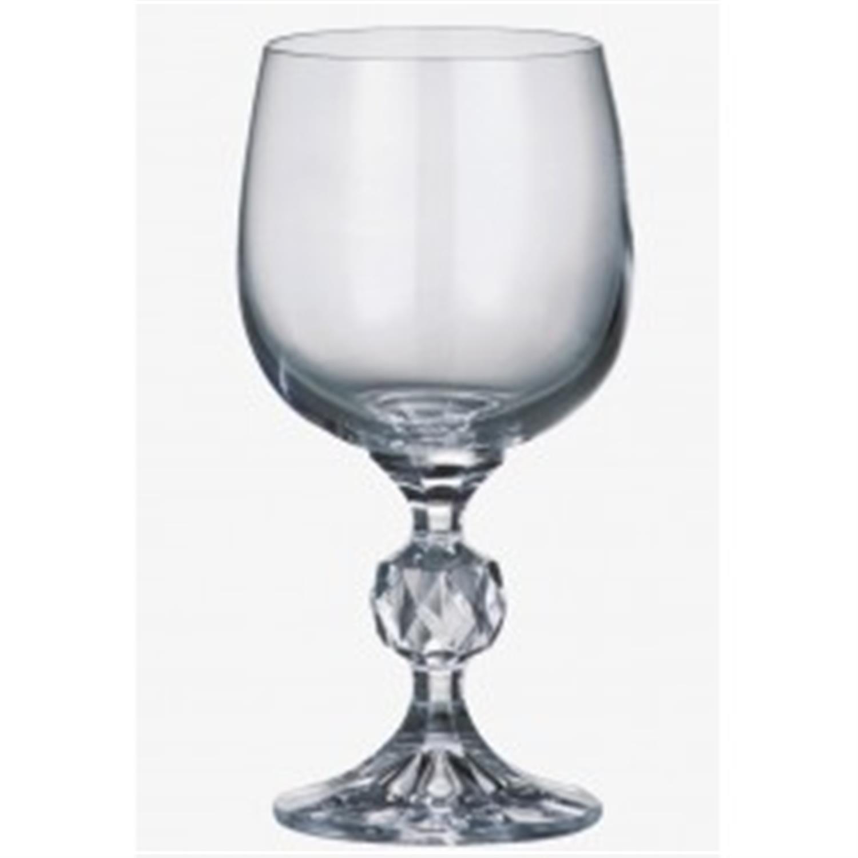 Σετ 6 ποτήρια νερού κολωνάτα κρυστάλλινα Klaudie 230ml Bohemia