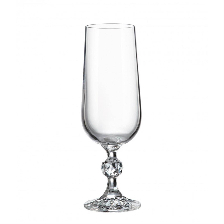 Σετ 6 ποτήρι ούζου κρυστάλλινο Bohemia Klaudie 180ml