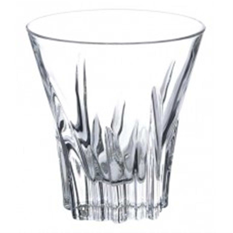 Σετ 6 ποτήρια ουίσκι Fluente κρυστάλλινα διάφανα 310ml RCR
