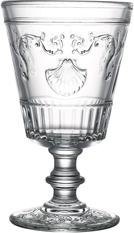 S/6 Ποτήρι κρασιού γυάλινο διάφανο 200cc La Rochere
