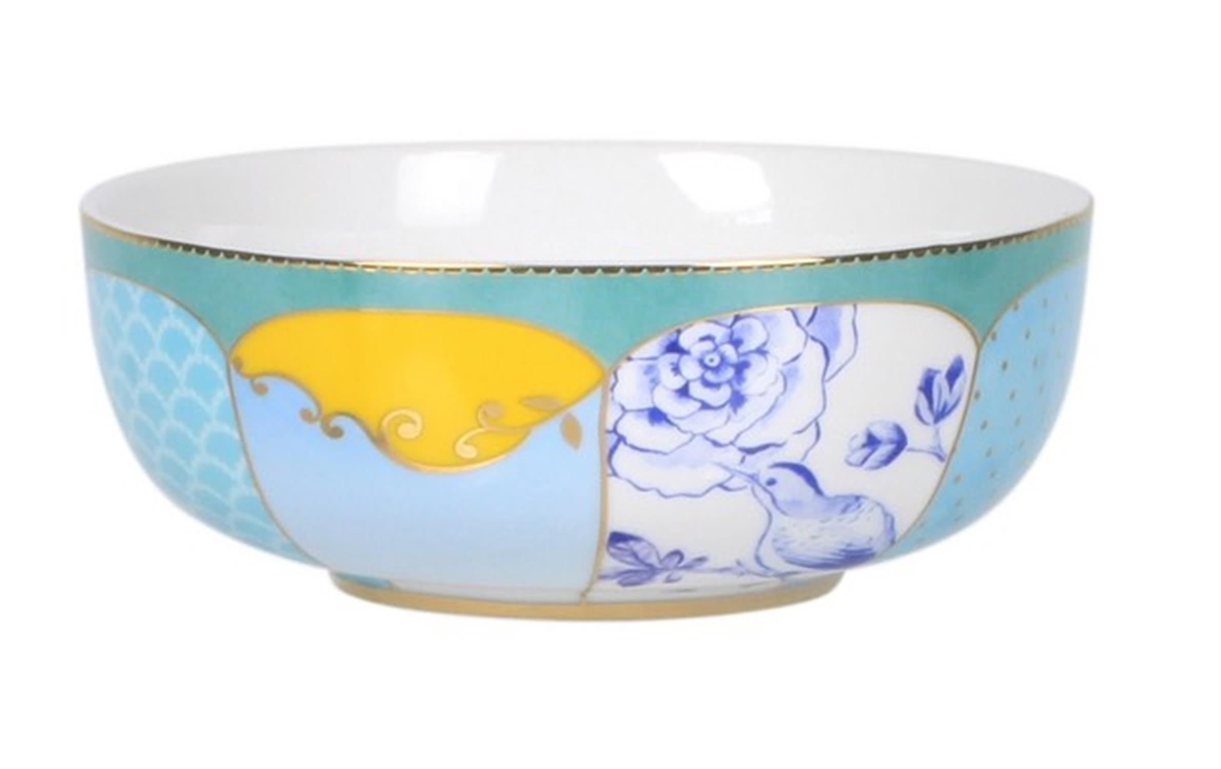 Μπωλ σαλάτας Royal Floral πορσελάνινο πολύχρωμο Δ-15cm Pip Studio 51003045