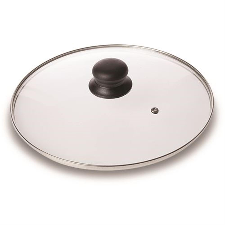 Καπάκι κατσαρόλας Misty γυάλινο μαύρο Δ26cm Nava 10-103-122