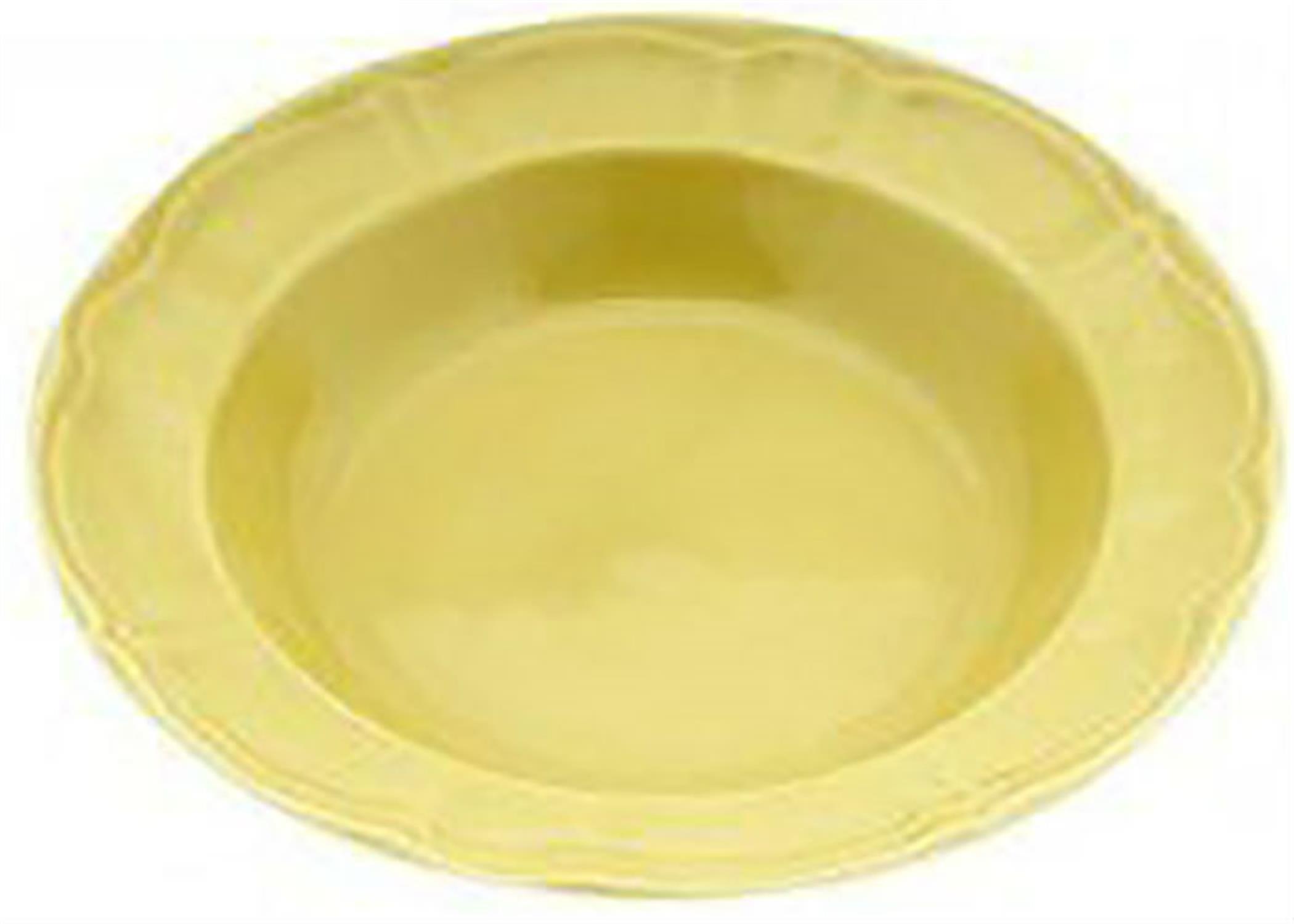 Πιάτο κεραμικό βαθύ κίτρινο 22cm Venus 89561