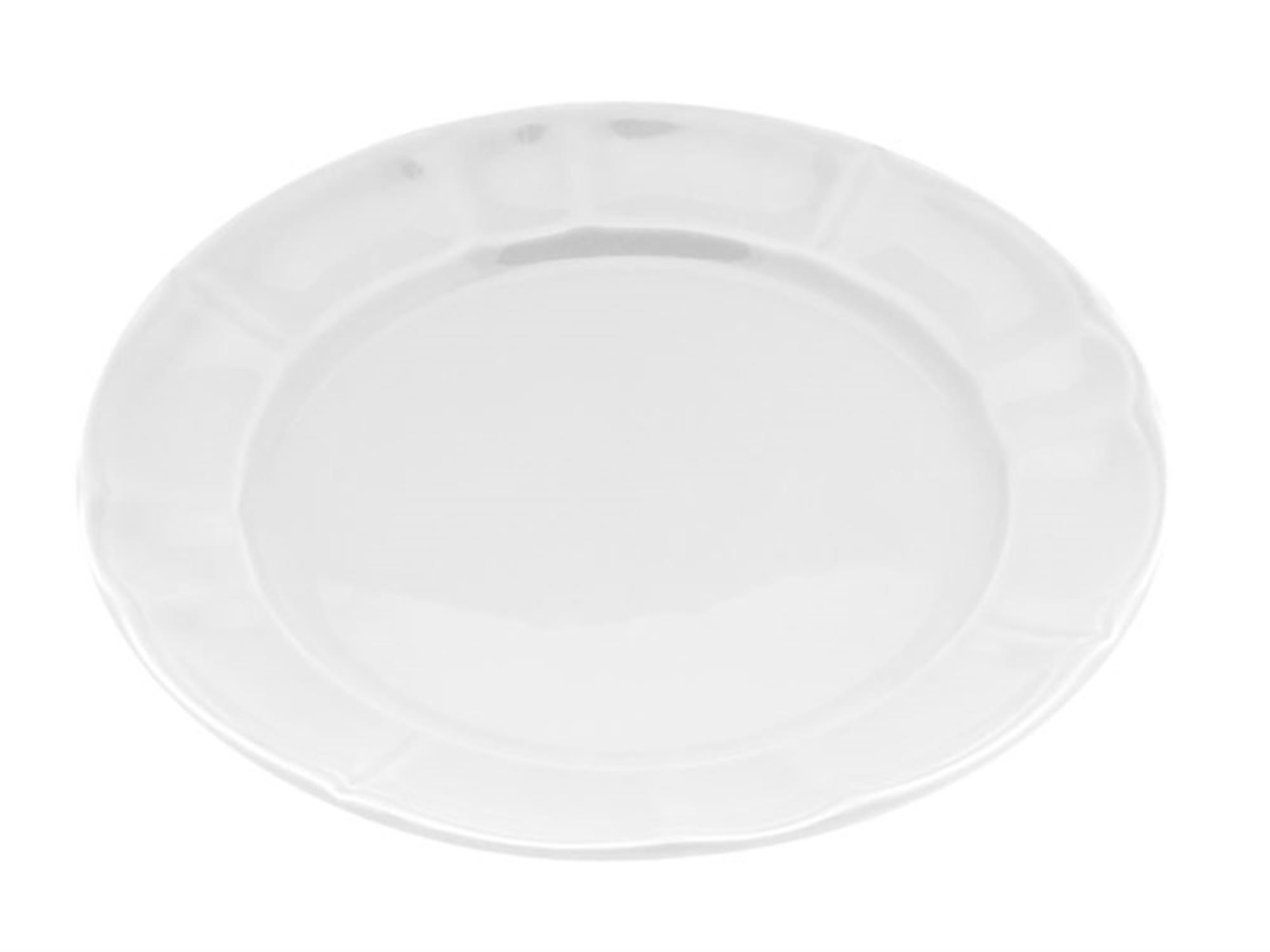 Πιάτο κεραμικό ρηχό λευκό 27cm Venus 89564