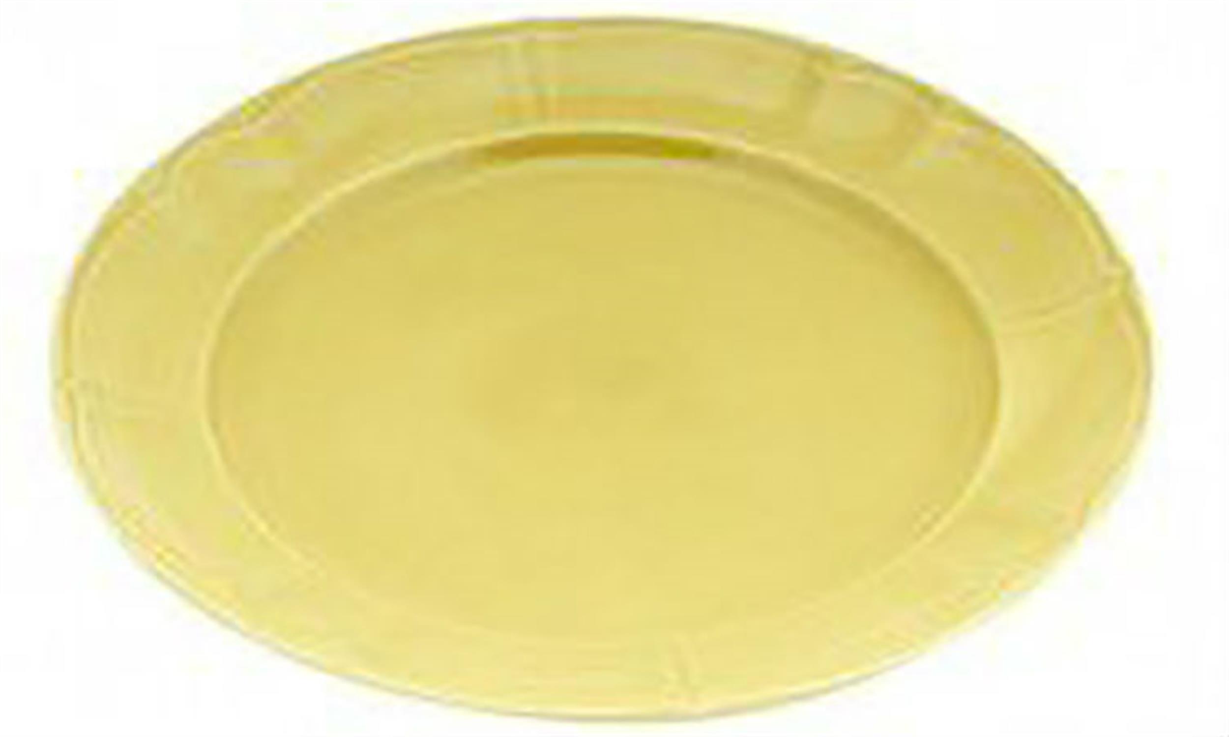 Πιάτο κεραμικό ρηχό κίτρινο 27cm Venus 89565