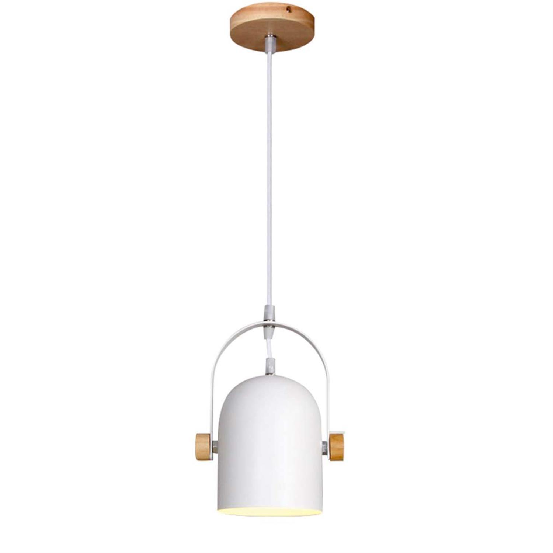 Φωτιστικό οροφής λευκό ξύλινο και μεταλλικό 15x30cm Inlight 6130-1-W