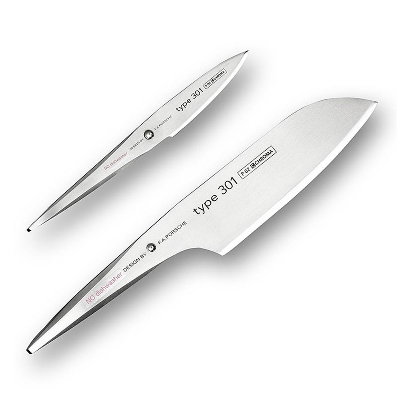 Σετ 2 μαχαιριών F.A. Porsche Type 301 Chroma P29-301