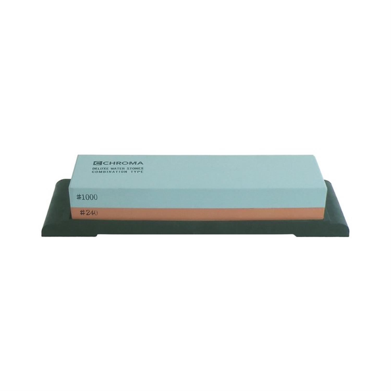 Πέτρα ακονίσματος 1000/240 18×6.3×2.8cm Chroma ST-1800L