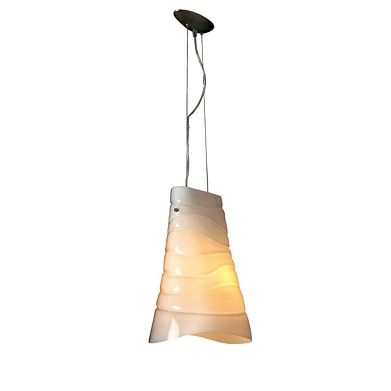 Φωτιστικό οροφής μονόφωτο διπλή οπαλίνα λευκό Konnica 38cm Home Lighting 77-1103