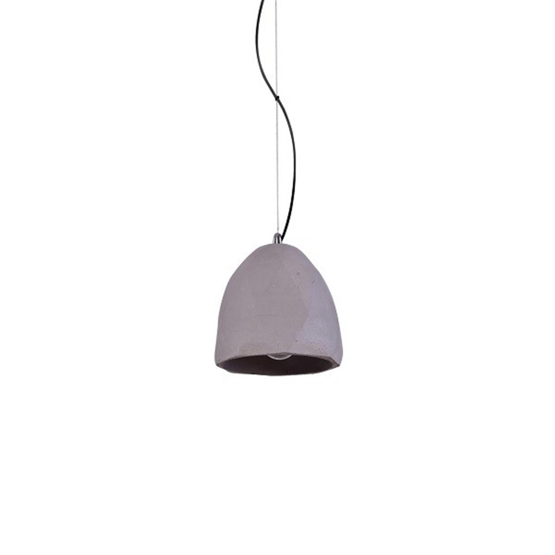 Φωτιστικό οροφής μονόφωτο τσιμεντένιο γκρι Joy 14x120cm Home Lighting 77-3586