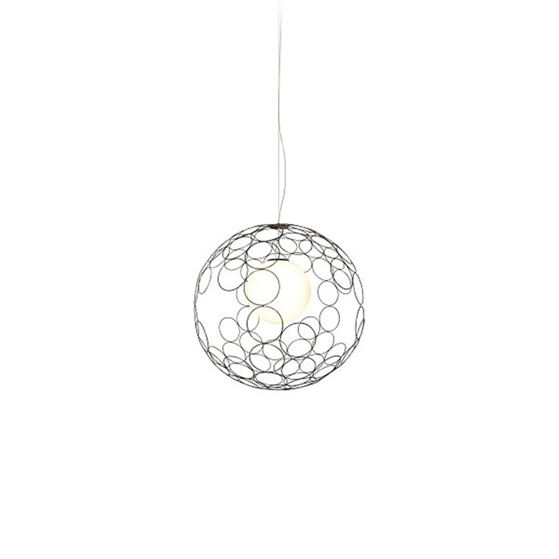 Φωτιστικό οροφής κρεμαστό μονόφωτο μεταλλικό χρώμιο Aline 60×120εκ Home Lighting 77-4085