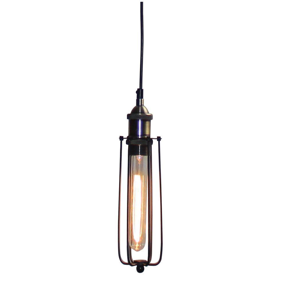 Φωτιστικό οροφής μονόφωτο μεταλλικό μαύρο Toro 8x30x120cm Home Lighting 77-4406