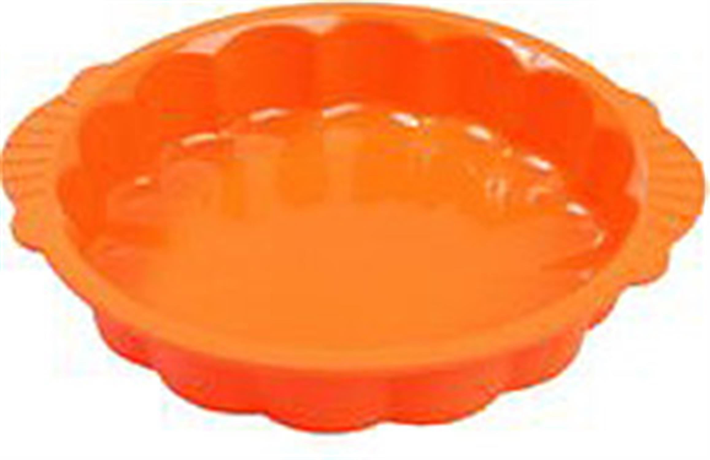 Φόρμα σιλικόνης για ταρτα πορτοκαλί 18×3.5εκ