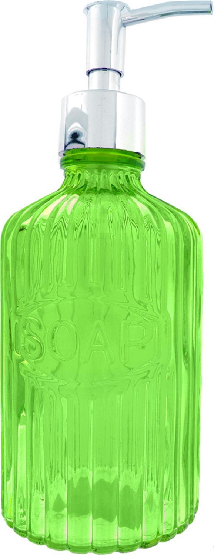 Αντλία σαπουνιού στρογγυλή πράσινο 21x8cm