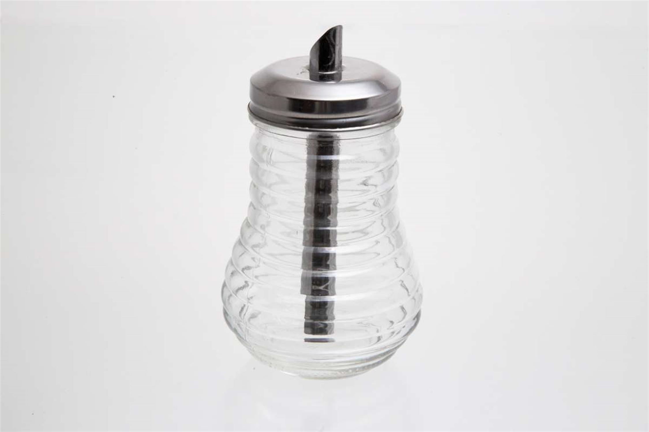 Ζαχαριέρα γυάλινη 13×7.5cm