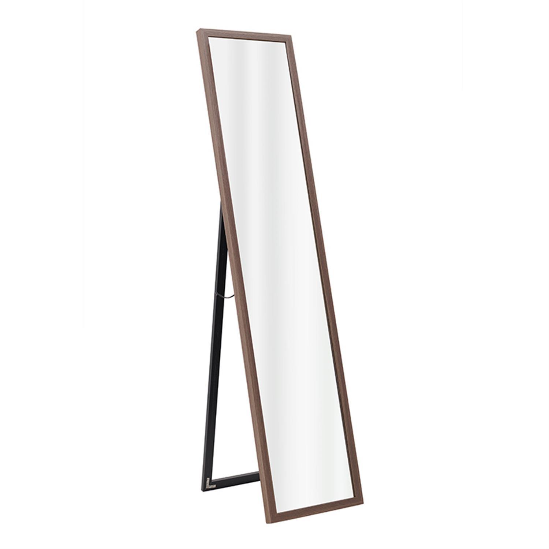 Καθρέπτης τοίχου ξύλινος καφέ 34x3x154cm Inart 3-95-202-0026