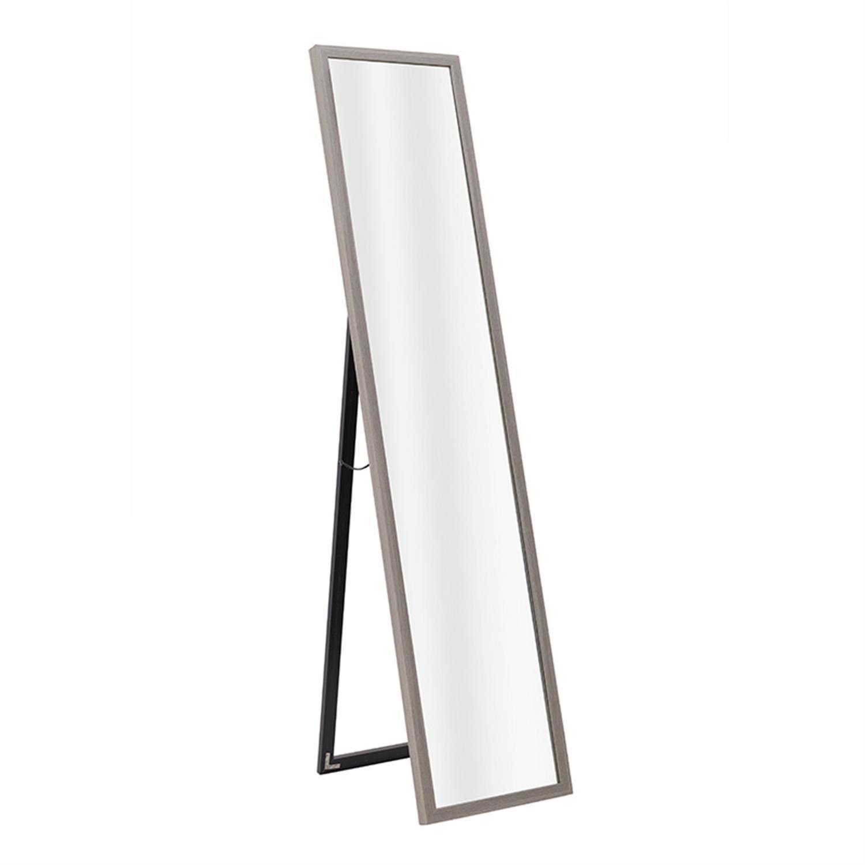 Καθρέπτης τοίχου ξύλινος μπεζ 34x3x154cm Inart 3-95-202-0027