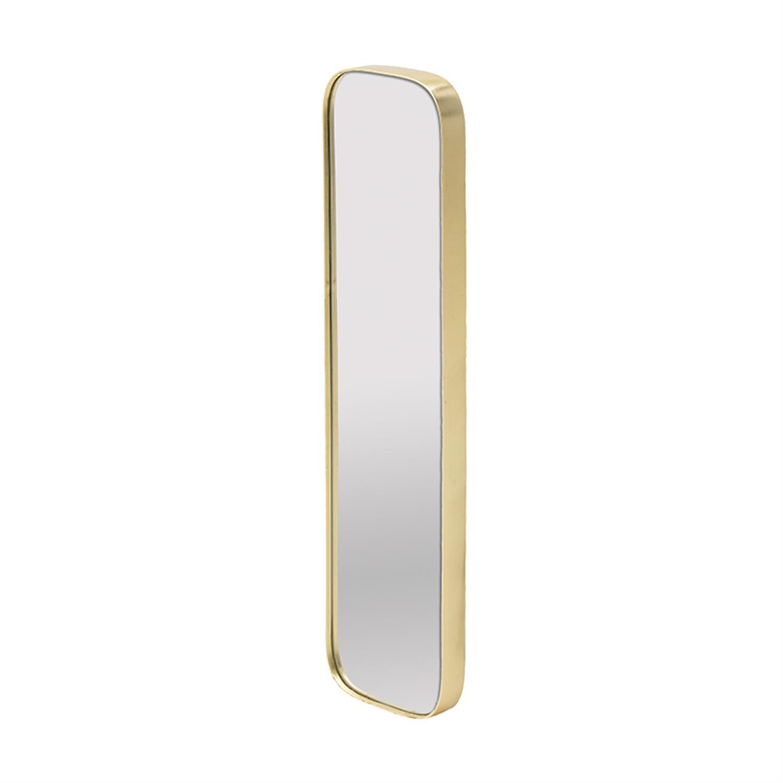 Καθρέπτης τοίχου ξύλινος χρυσός 21x4x81cm Inart 3-95-297-0017