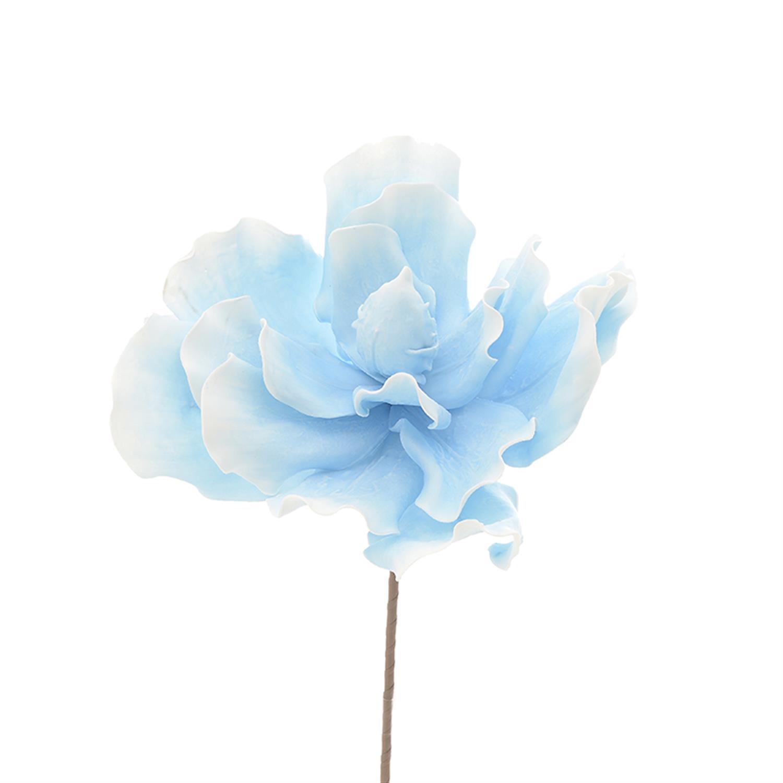 Λουλούδι/Κλαδί γαλάζιο Δ35x72cm Inart 3-85-246-0132