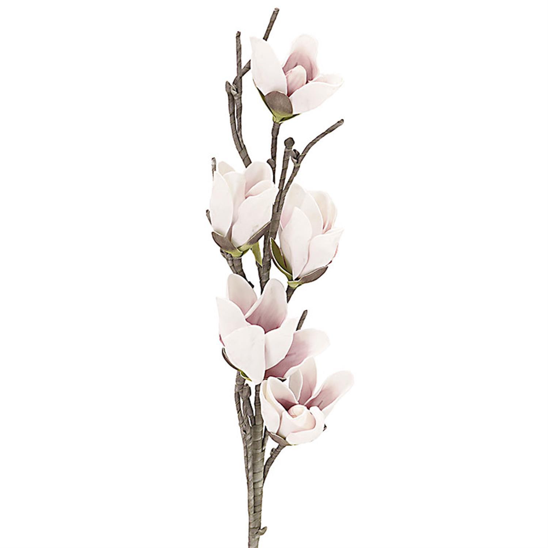 Λουλούδι/Κλαδί ροζ Υ120cm Inart 3-85-246-0074