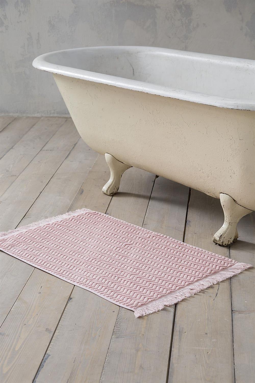 Πατάκι Μπάνιου Contour Ροζ 50x80cm Nima