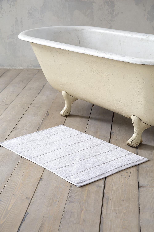 Πατάκι Μπάνιου Ferrow Γκρι 50x80cm Nima