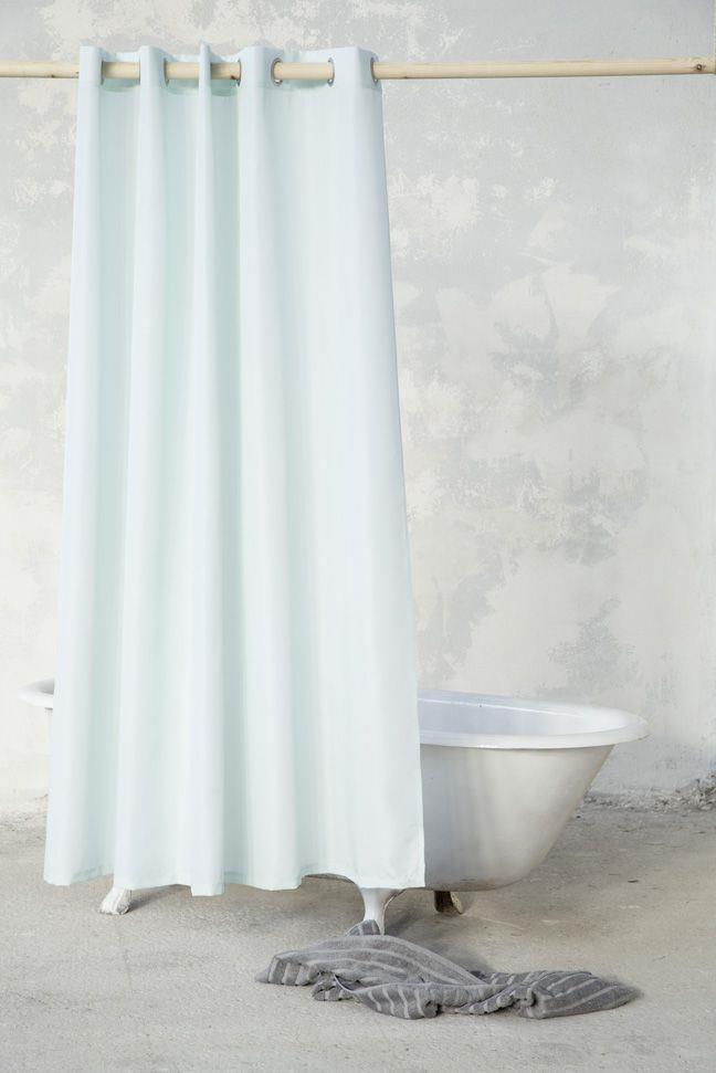 Κουρτίνα Μπάνιου Essential Μέντα 180x240cm Nima