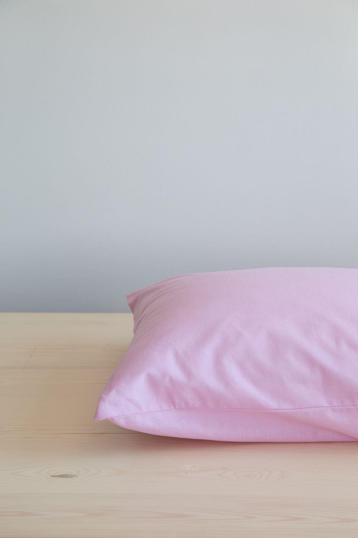 Σεντόνι Μονό Unicolors Απαλό Ροζ 160x260cm Nima