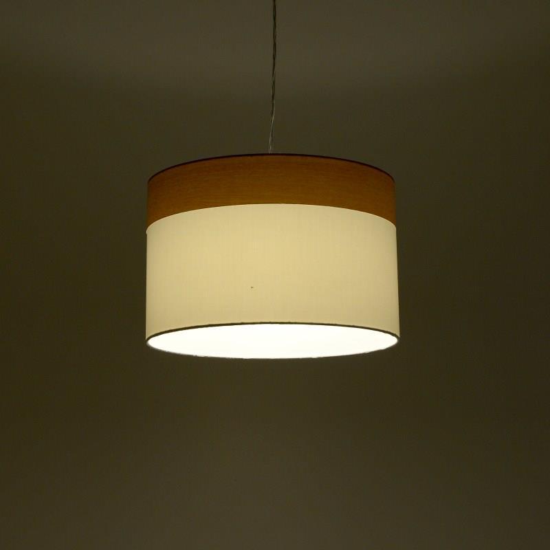 Φωτιστικό οροφής γυάλινο γκρι/χρυσό 12.5×12.5×27.5cm Inart 3-10-548-0003