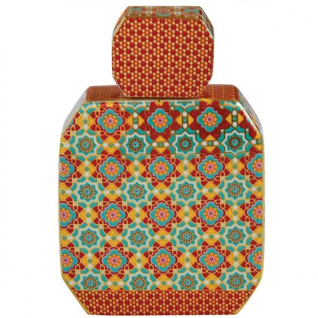 Μπουκάλι αρωματικού χώρου hammam 225ml & sticks κεραμικό κόκκινο Marva 2061AMHR