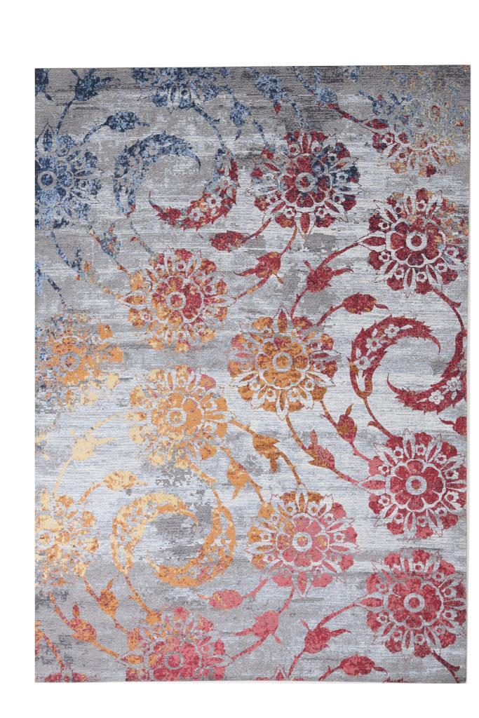 Χαλί σαλονιού καλοκαιρινό βαμβακερό/chenille 120x180cm Royal Carpet Rainbow 2Z