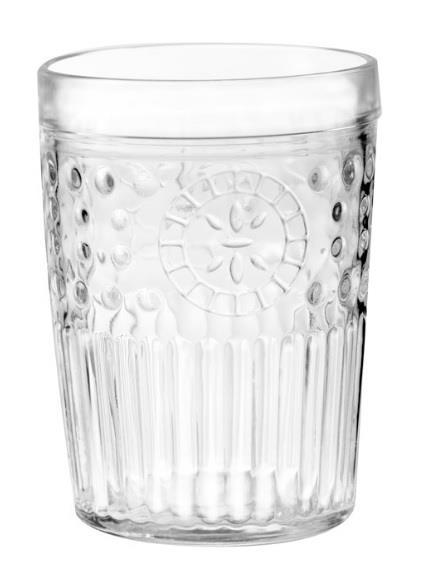 S/6 Ποτήρι ουίσκι Marruecos 358ml γυάλινο διάφανο Cristar