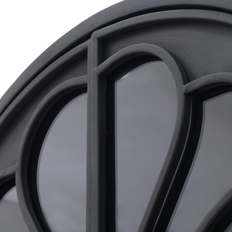 Βιτρίνα μεταλλική μαύρη 70x40x173cm Inart 3-50-478-0003