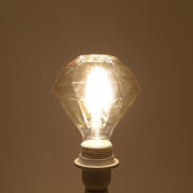Λαμπτήρας LED Dimmable Διαμάντι 1800K 4W 11×14.5cm Inart 6-10-560-0006