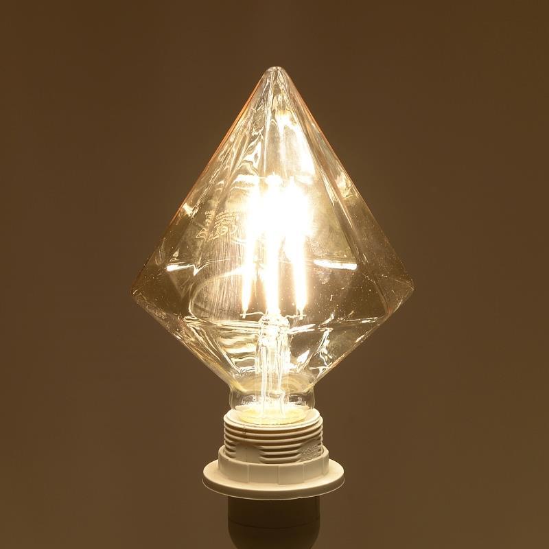 Λαμπτήρας LED Dimmable Ρόμβος 1800K 4W 11.5×17.5cm Inart 6-10-560-0007