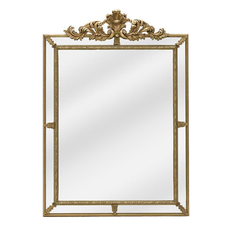 Καθρέπτης τοίχου polyresin χρυσός 80×5.5x113cm Inart 3-95-297-0035