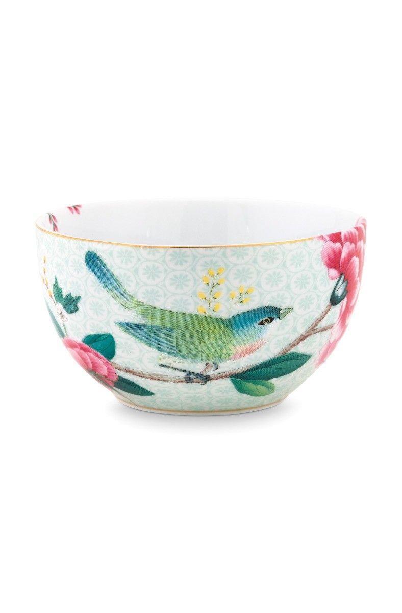 Μπωλ Blushing Birds White πορσελάνινο πολύχρωμο Δ12cm Pip Studio 51003113