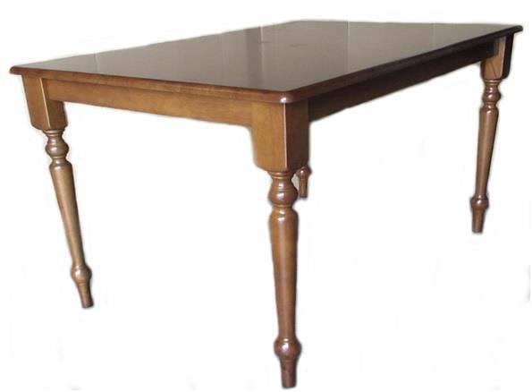 Τραπέζι ορθογώνιο Oslo-W ξύλινο σκούρο καρυδί 150x90cm Home Plus 02.01.0092