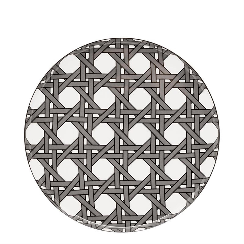 Πιάτο ρηχό Webbing πορσελάνινο Δ26.5cm Designed for living 53001009