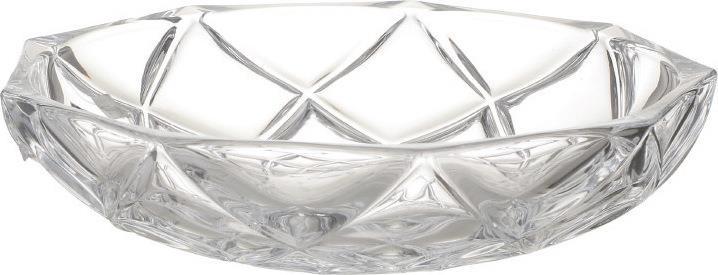 Μπωλ σερβιρίσματος γυάλινο διάφανο 32.5×32.5x7cm Inart 6-70-504-0007