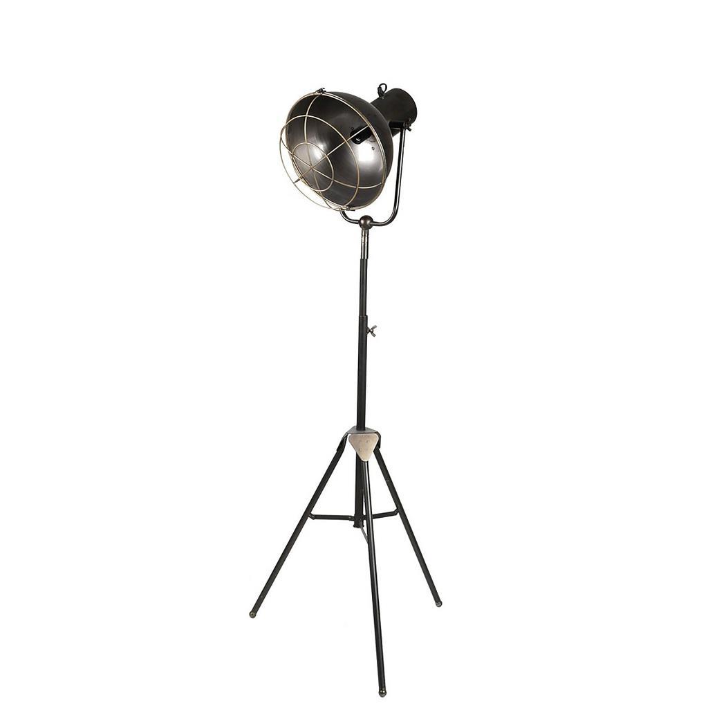 Φωτιστικό δαπέδου μεταλλικό καφέ 89.5×25.5cm Espiel FUT212