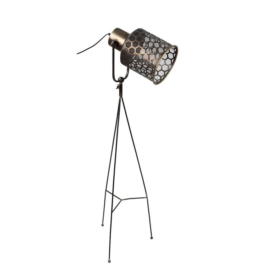 Φωτιστικό δαπέδου μεταλλικό καφέ 73×19.2cm Espiel FUT213