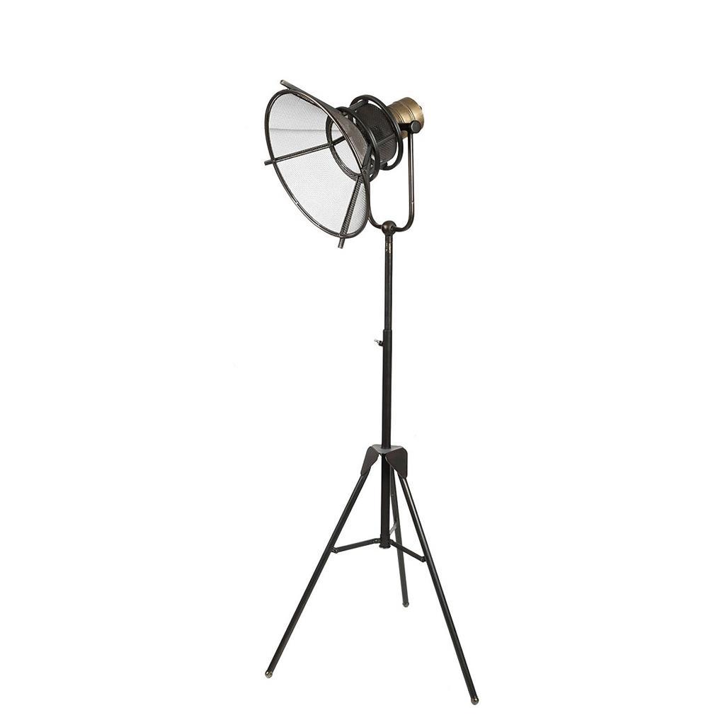 Φωτιστικό δαπέδου μεταλλικό καφέ 125x33cm Espiel FUT221