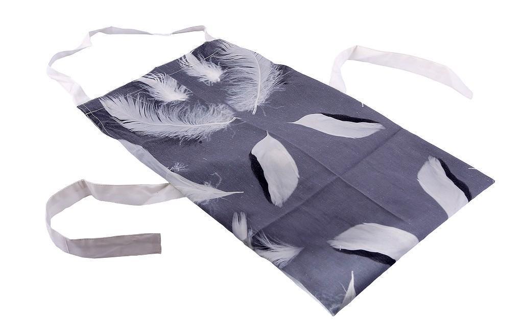 Ποδιά Πούπουλα γκρι 70x85cm Espiel HEM210
