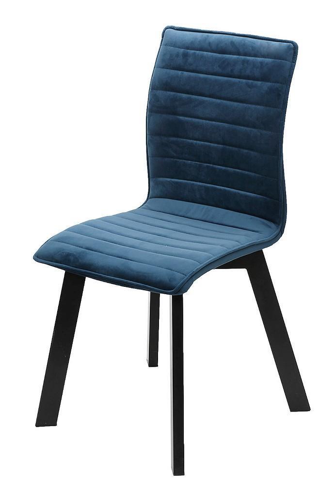 Καρέκλα υφασμάτινη πράσινη/μαύρη 43x55x89.5cm Espiel KLE103