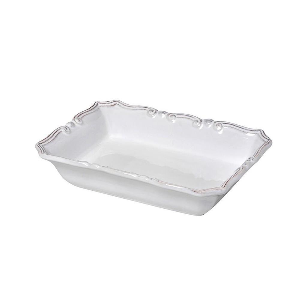 Μπωλ Tiffany λευκό 19x15cm Espiel RSW120K12