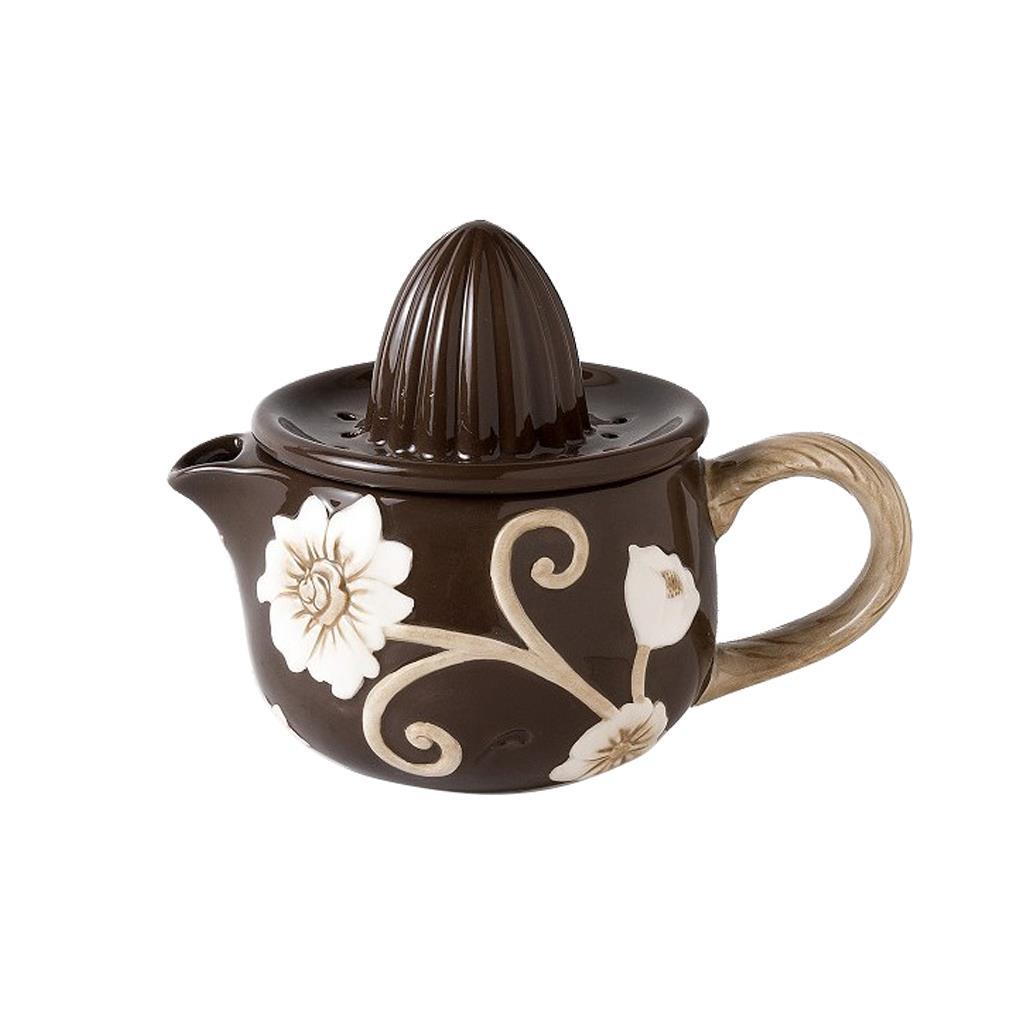 Λεμονοστίφτης Λουλούδι καφέ 17cm Espiel ZIN119