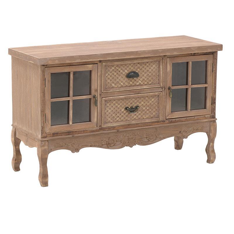 Ντουλάπι ξύλινο natural 110x40x68cm Inart 3-50-156-0066