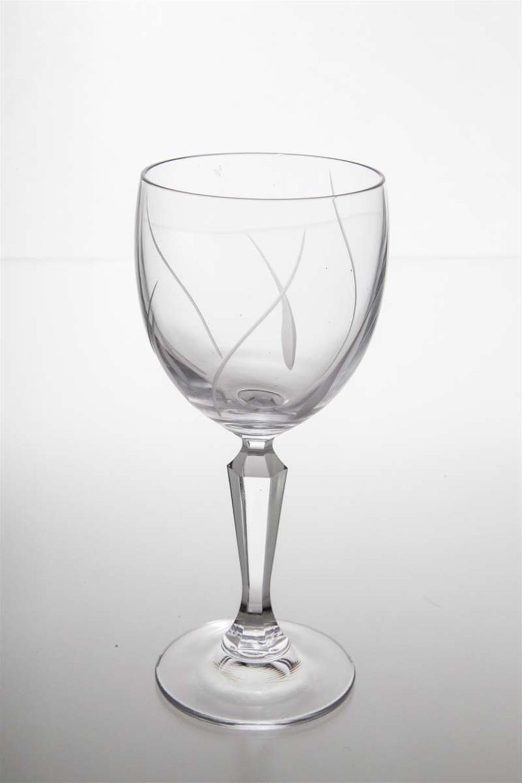 Κρυστάλλινο ποτήρι κρασιού κολωνάτο Nicole σετ 6 τεμαχίων
